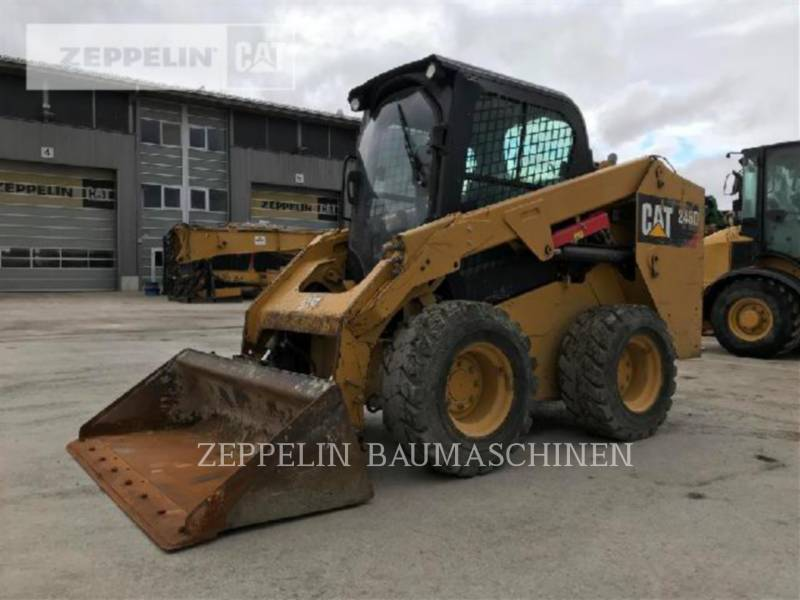 CATERPILLAR PALE COMPATTE SKID STEER 246D equipment  photo 1