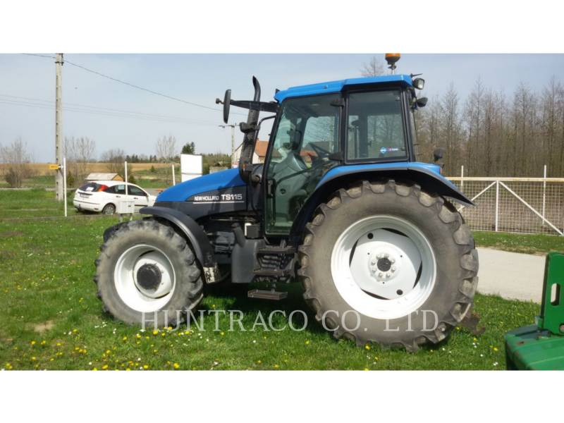 NEW HOLLAND LTD. TRACTORES AGRÍCOLAS TS115 equipment  photo 2