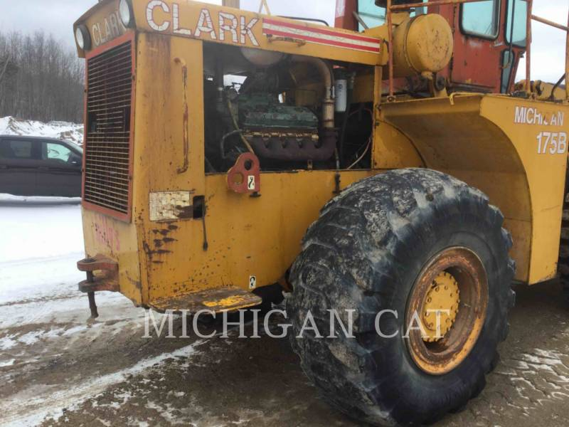 MICHIGAN CHARGEURS SUR PNEUS/CHARGEURS INDUSTRIELS 175B-GM equipment  photo 7
