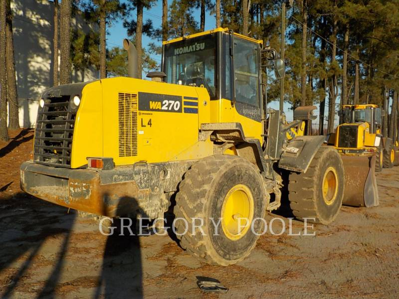 KOMATSU WHEEL LOADERS/INTEGRATED TOOLCARRIERS WA270-7 equipment  photo 9