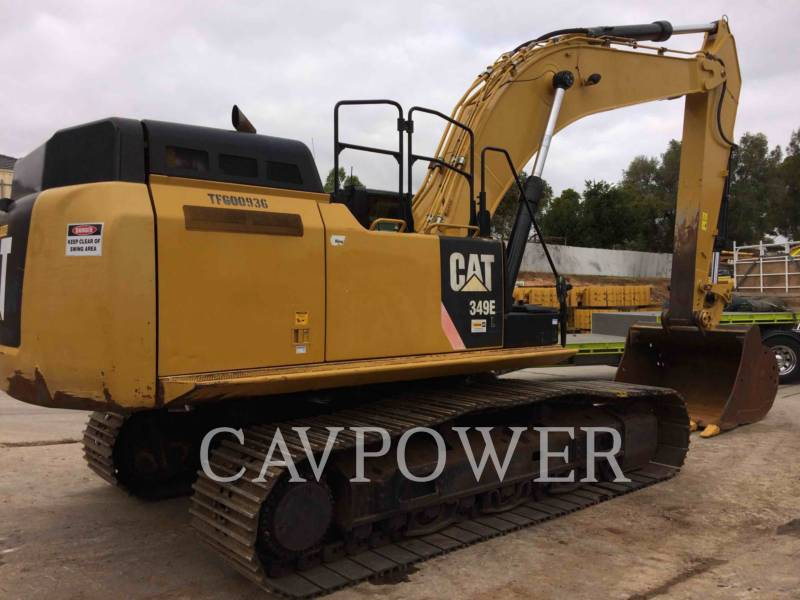 CATERPILLAR TRACK EXCAVATORS 349EL equipment  photo 3