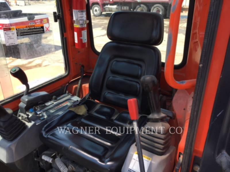 KUBOTA TRACTOR CORPORATION TRACK EXCAVATORS KX161-3SS equipment  photo 5