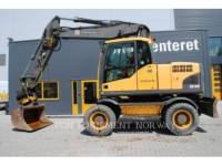 Equipment photo VOLVO CONSTRUCTION EQUIP BRASIL EW 160 C PELLES SUR PNEUS 1