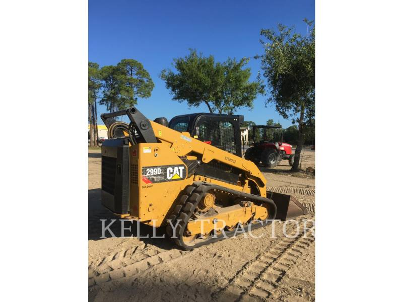 CATERPILLAR MULTI TERRAIN LOADERS 299D2XHP equipment  photo 7