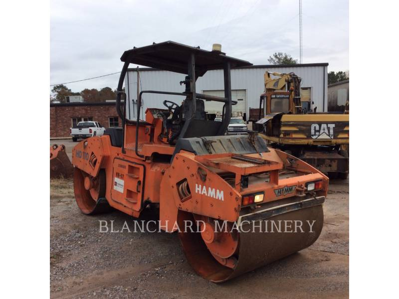 HAMM GMBH TANDEMVIBRATIONSWALZE, ASPHALT HD110 equipment  photo 4