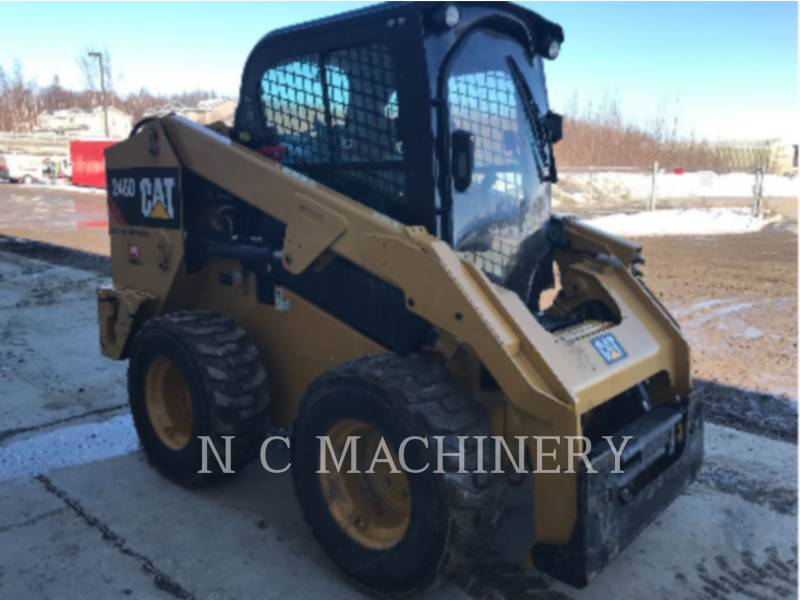 CATERPILLAR KOMPAKTLADER 246D equipment  photo 5