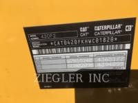 CATERPILLAR BAGGERLADER 420F2H2 equipment  photo 6