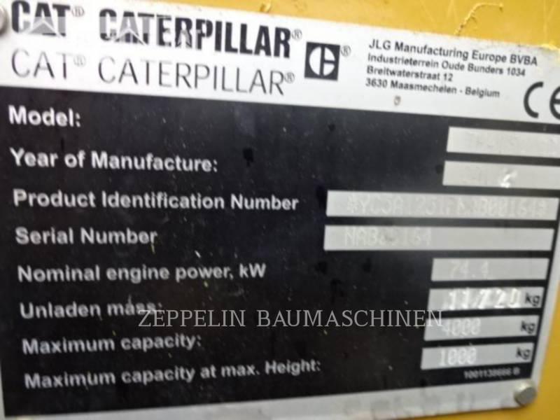 CATERPILLAR TELEHANDLER TH417CGC equipment  photo 15
