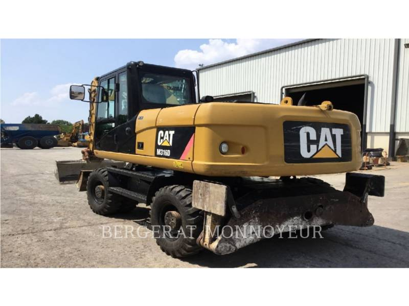 CATERPILLAR ESCAVATORI GOMMATI M316D equipment  photo 3