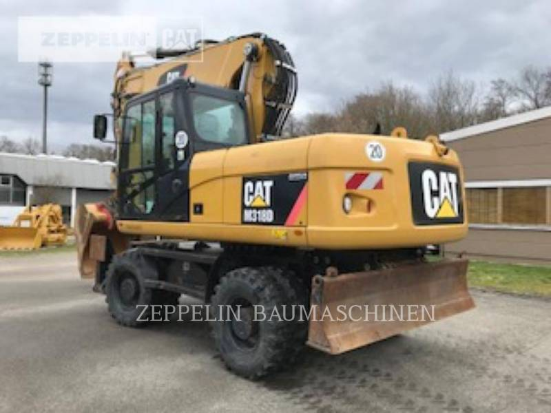CATERPILLAR ホイール油圧ショベル M318D equipment  photo 5