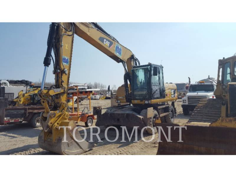 CATERPILLAR TRACK EXCAVATORS M318D equipment  photo 2