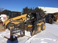 Equipment photo NEW HOLLAND LTD. LX665 SKID STEER LOADERS 1