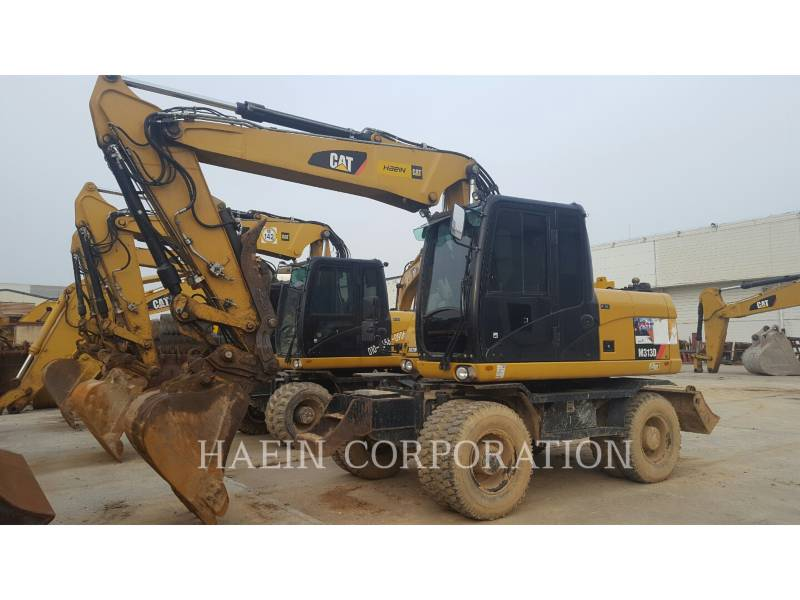 CATERPILLAR WHEEL EXCAVATORS M313D equipment  photo 5