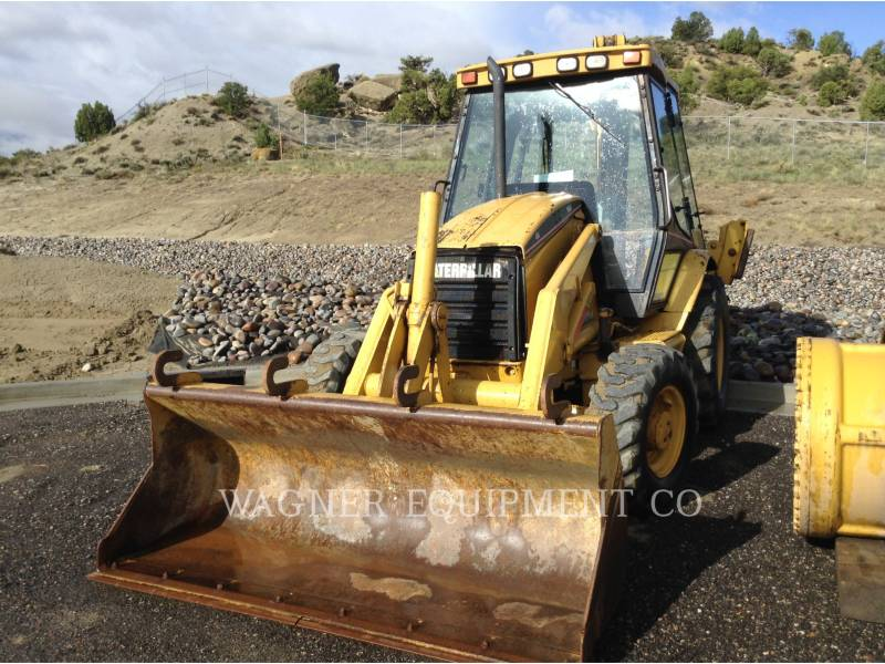 CATERPILLAR CHARGEUSES-PELLETEUSES 426C 4WD equipment  photo 1