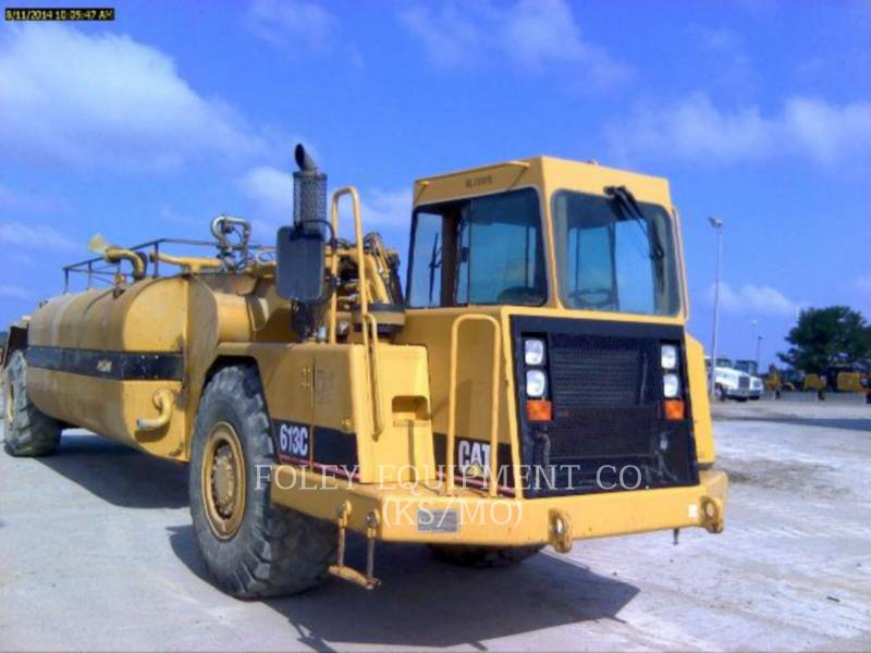 CATERPILLAR WHEEL TRACTOR SCRAPERS 613CWW equipment  photo 2