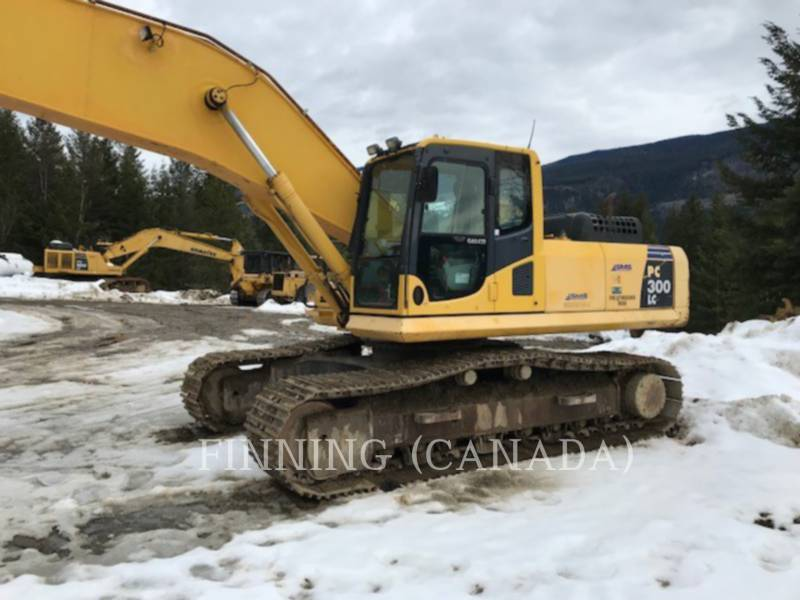 KOMATSU TRACK EXCAVATORS PC300LC-8 equipment  photo 3