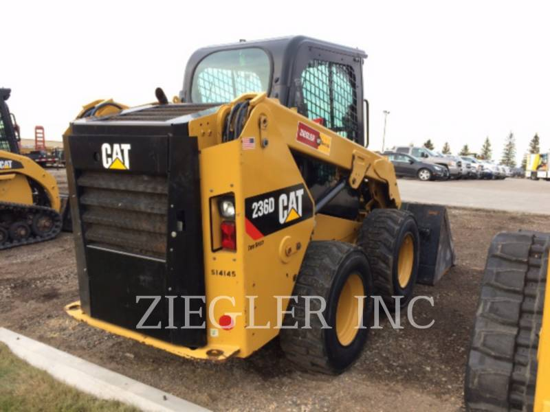 CATERPILLAR KOMPAKTLADER 236DSR equipment  photo 4