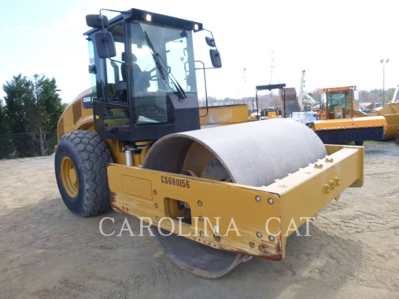 CATERPILLAR EINZELVIBRATIONSWALZE, GLATTBANDAGE CS66B equipment  photo 4