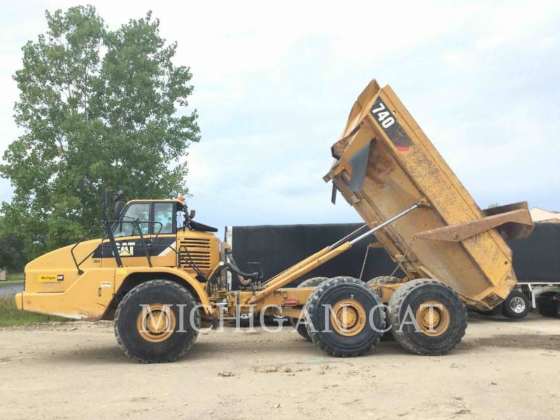 CATERPILLAR ARTICULATED TRUCKS 740 equipment  photo 5