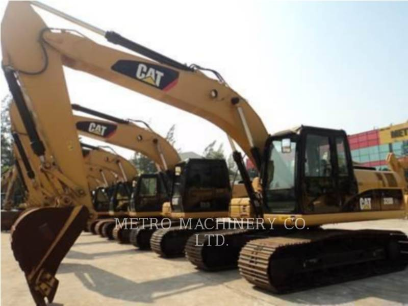 CATERPILLAR KETTEN-HYDRAULIKBAGGER 320DGC equipment  photo 3