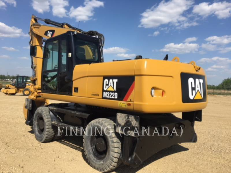 CATERPILLAR MOBILBAGGER M322D equipment  photo 3