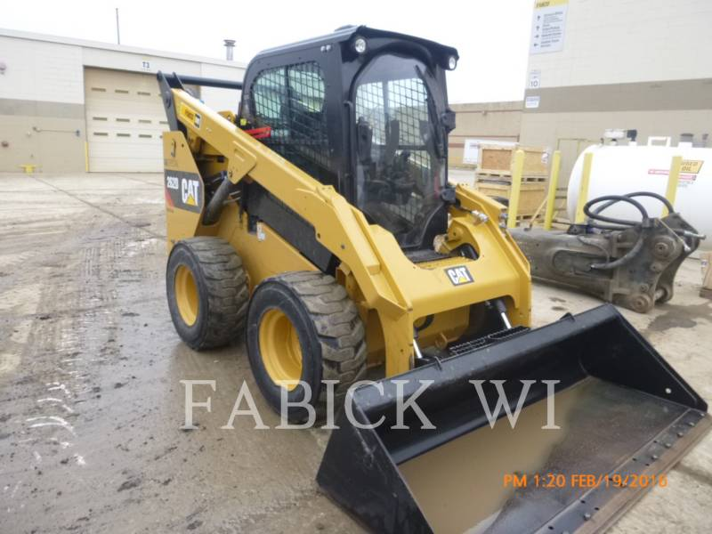 CATERPILLAR MINICARGADORAS 262D AGSP equipment  photo 4