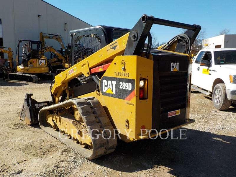 CATERPILLAR CHARGEURS TOUT TERRAIN 289D equipment  photo 8