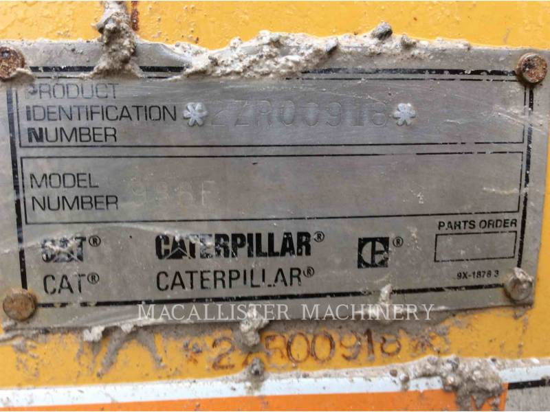 CATERPILLAR WHEEL LOADERS/INTEGRATED TOOLCARRIERS 988F equipment  photo 6
