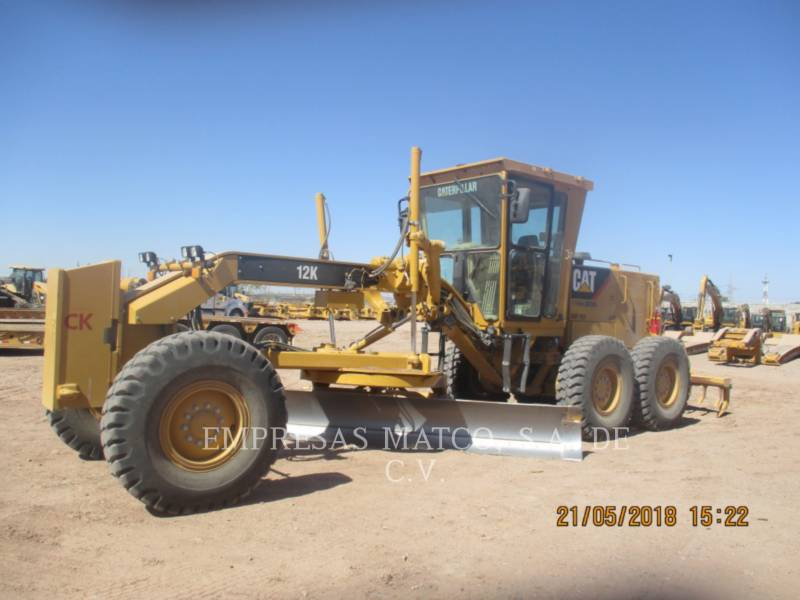 CATERPILLAR MOTORGRADER 12K equipment  photo 3