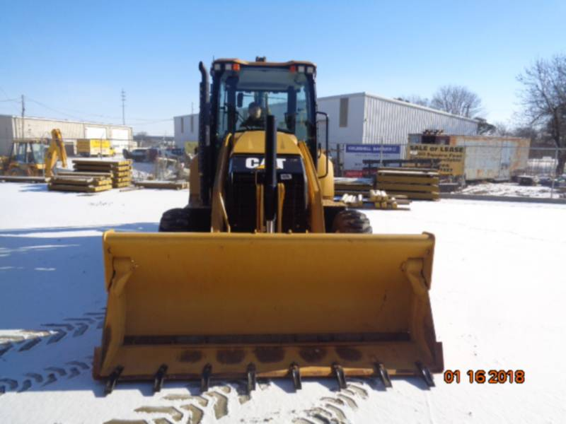 CATERPILLAR BAGGERLADER 420F2ST equipment  photo 8