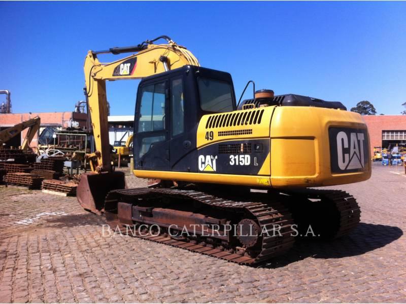 CATERPILLAR EXCAVADORAS DE CADENAS 315DL equipment  photo 3