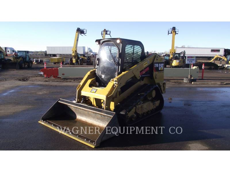CATERPILLAR MINICARGADORAS 279D HF equipment  photo 1
