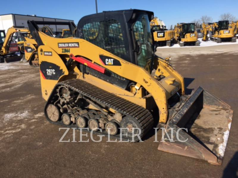 CATERPILLAR MULTI TERRAIN LOADERS 297C equipment  photo 3