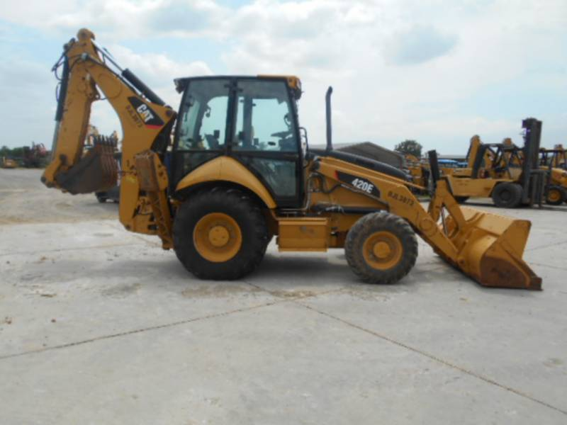 Caterpillar BULDOEXCAVATOARE 420EST equipment  photo 8