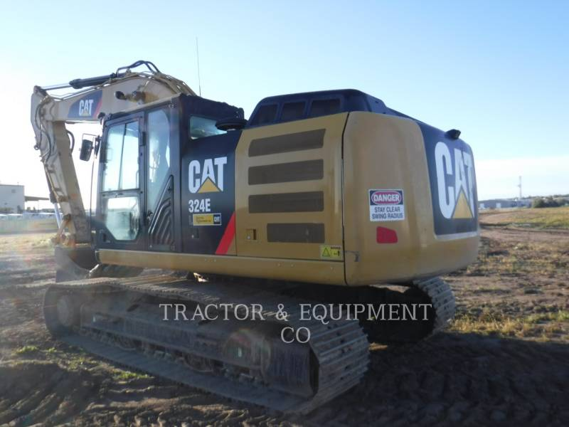 CATERPILLAR TRACK EXCAVATORS 324E L equipment  photo 1