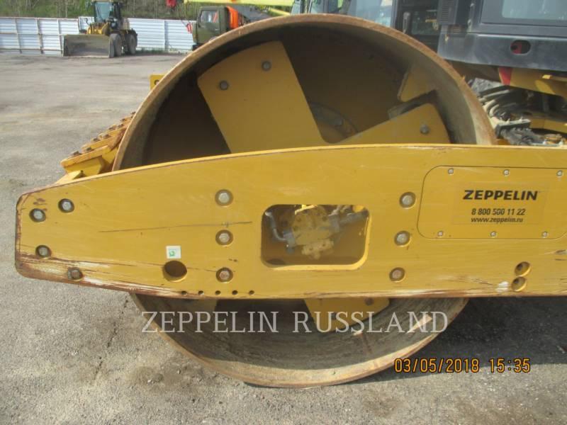CATERPILLAR EINZELVIBRATIONSWALZE, GLATTBANDAGE CS56 equipment  photo 6