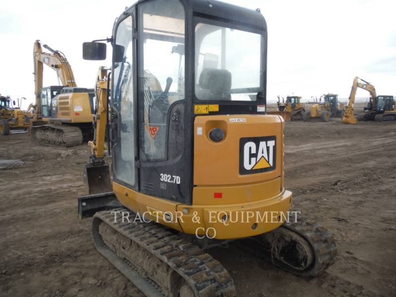CATERPILLAR KOPARKI GĄSIENICOWE 302.7DCRCB equipment  photo 4