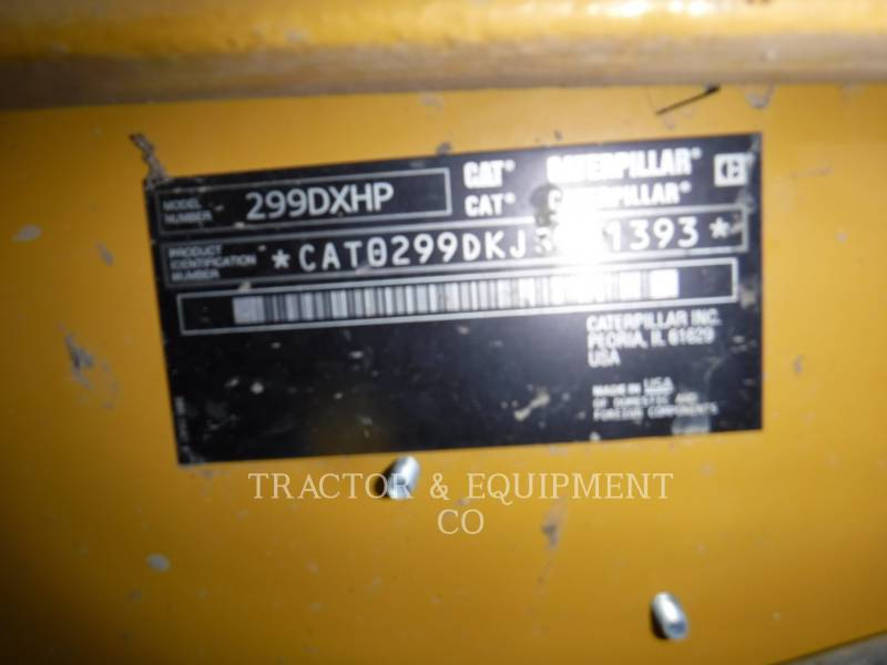 CATERPILLAR SKID STEER LOADERS 299D1 XHP equipment  photo 2