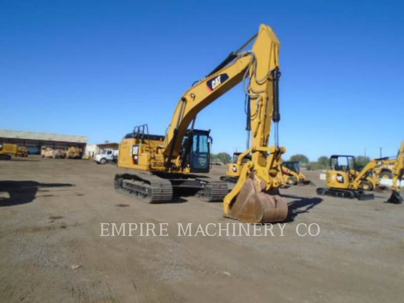 CATERPILLAR KETTEN-HYDRAULIKBAGGER 329FL TH P equipment  photo 1