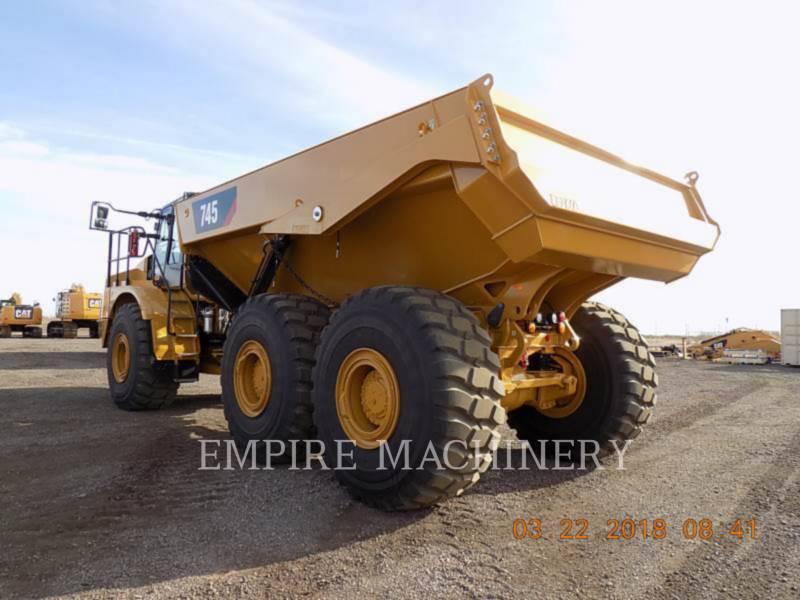 CATERPILLAR ARTICULATED TRUCKS 745-04 equipment  photo 3