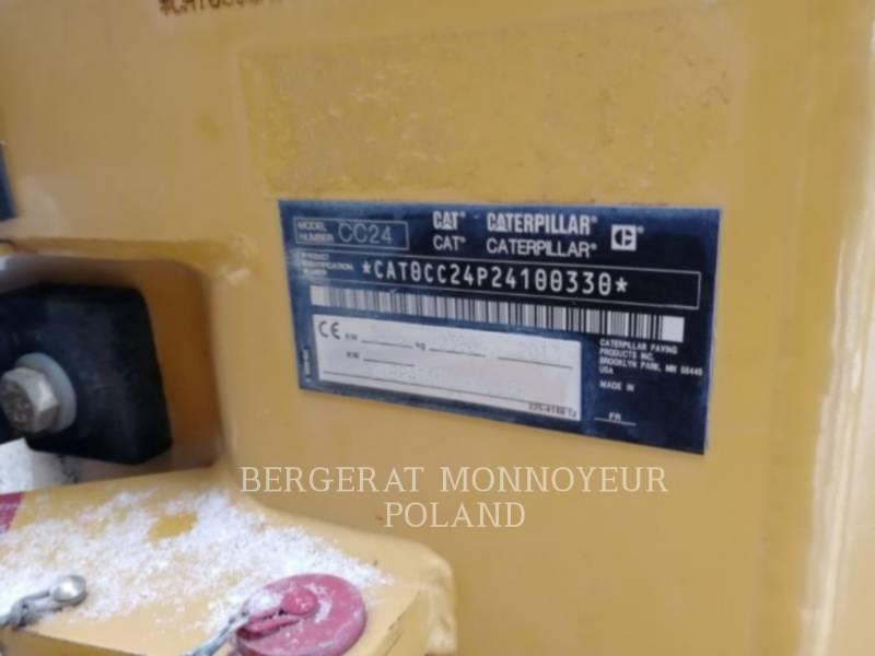 CATERPILLAR COMPACTORS CC24 equipment  photo 2