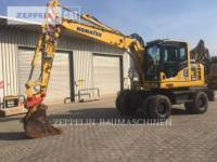 Equipment photo KOMATSU LTD. PW148-8 WHEEL EXCAVATORS 1