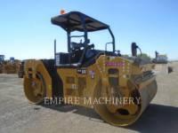 Equipment photo CATERPILLAR CB66B TANDEMOWY WALEC WIBRACYJNY DO ASFALTU (STAL-STAL) 1