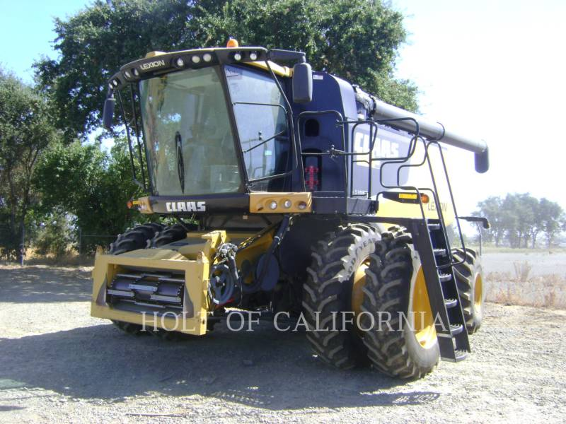 LEXION COMBINE COMBINADOS 740    GR11497 equipment  photo 2