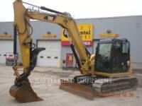 Equipment photo CATERPILLAR 308E2 CR TRACK EXCAVATORS 1