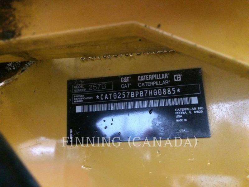 CATERPILLAR CHARGEURS TOUT TERRAIN 257B3 equipment  photo 11