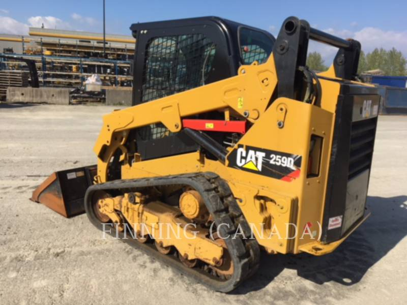 CATERPILLAR 多様地形対応ローダ 259DLRC equipment  photo 4
