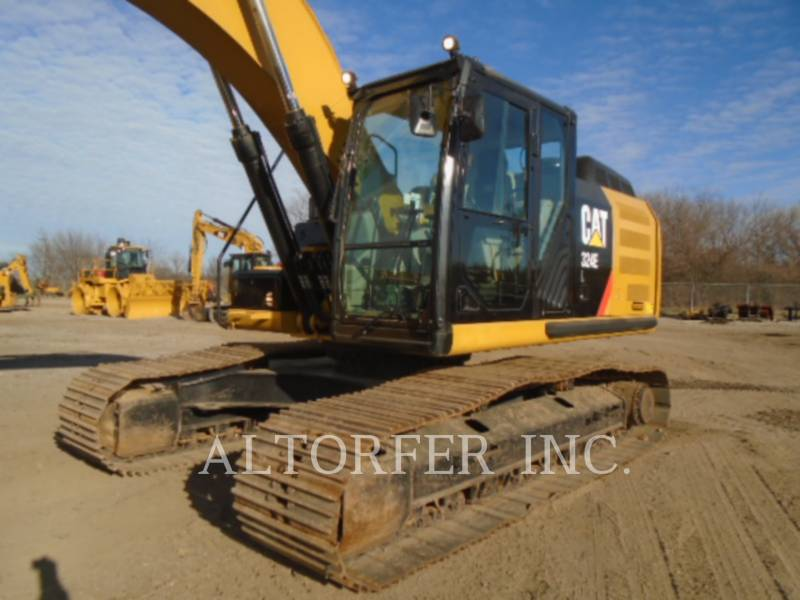 CATERPILLAR トラック油圧ショベル 324EL equipment  photo 2