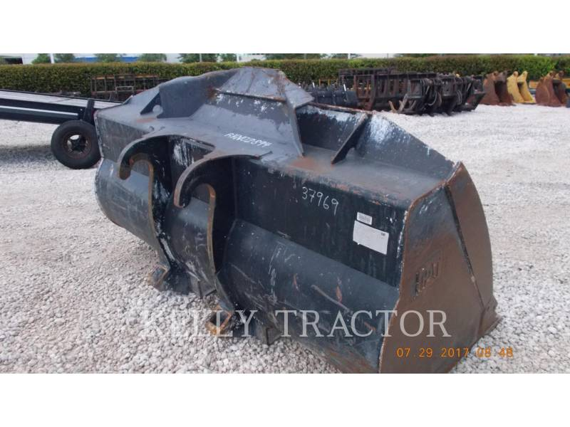 CATERPILLAR ATTREZZATURA - BENNA FUSION QUICK COUPLER BUCKET FOR CAT 930K equipment  photo 1