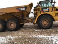 CATERPILLAR TOMBEREAUX ARTICULÉS 740B TG equipment  photo 5